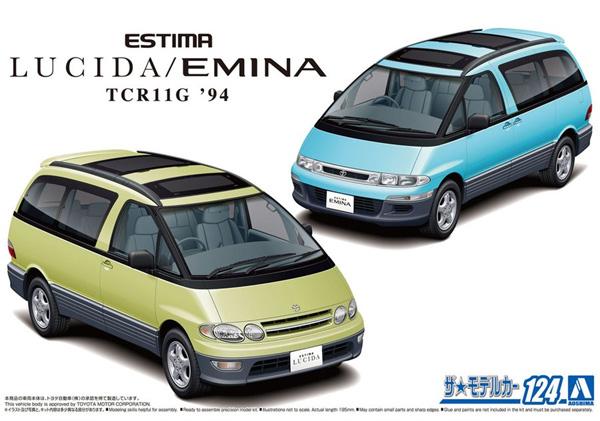 トヨタ TCR11G エスティマ ルシーダ/エミーナ