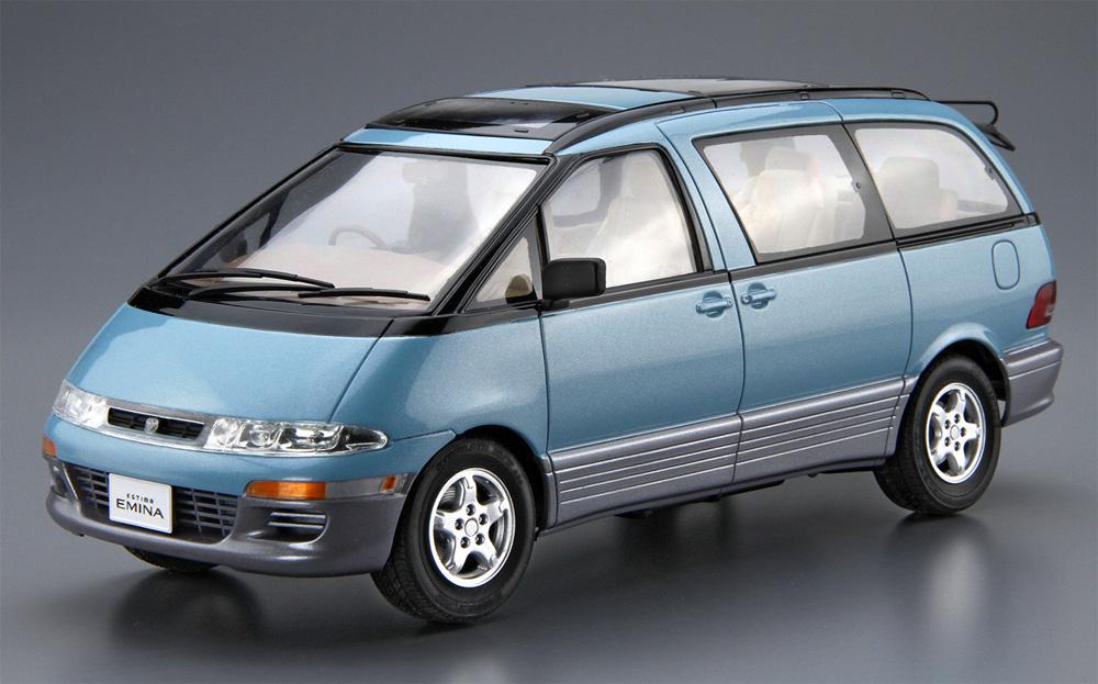 トヨタ TCR11G エスティマ ルシーダ/エミーナ '94プラモデル(アオシマ1/24 ザ・モデルカーNo.124)商品画像_3