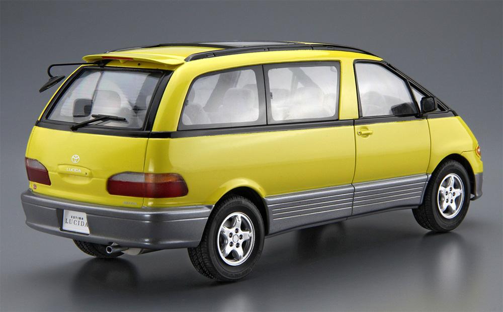 トヨタ TCR11G エスティマ ルシーダ/エミーナ '94プラモデル(アオシマ1/24 ザ・モデルカーNo.124)商品画像_4