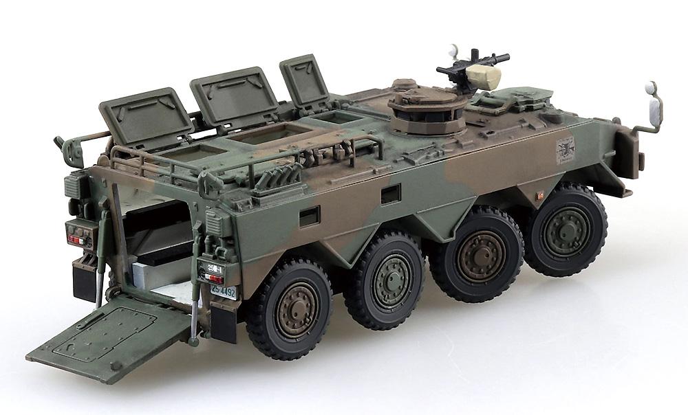 陸上自衛隊 96式装輪装甲車A型プラモデル(アオシマ1/72 ミリタリーモデルキットシリーズNo.022)商品画像_2