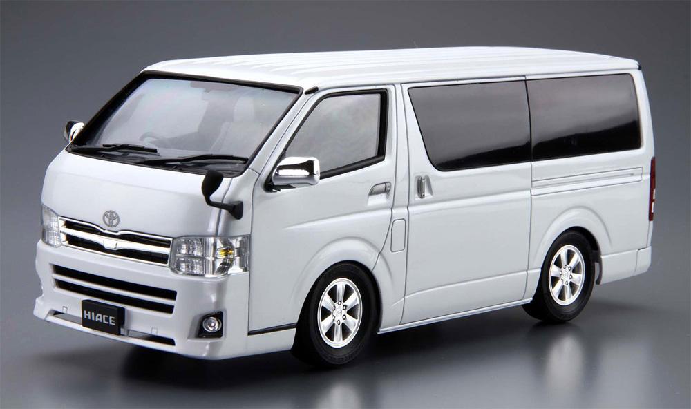 トヨタ TRH200V ハイエース スーパー GL '10プラモデル(アオシマ1/24 ザ・モデルカーNo.006)商品画像_2