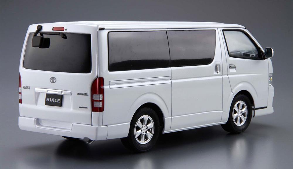 トヨタ TRH200V ハイエース スーパー GL '10プラモデル(アオシマ1/24 ザ・モデルカーNo.006)商品画像_3
