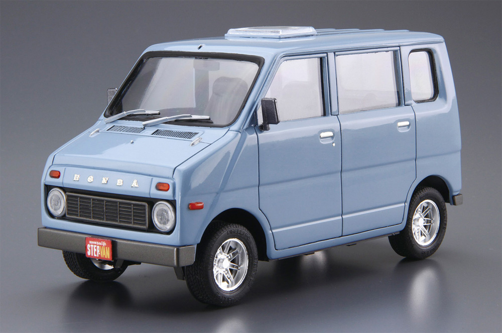 ホンダ VA ライフ ステップバン '74プラモデル(アオシマ1/24 ザ・モデルカーNo.074)商品画像_2