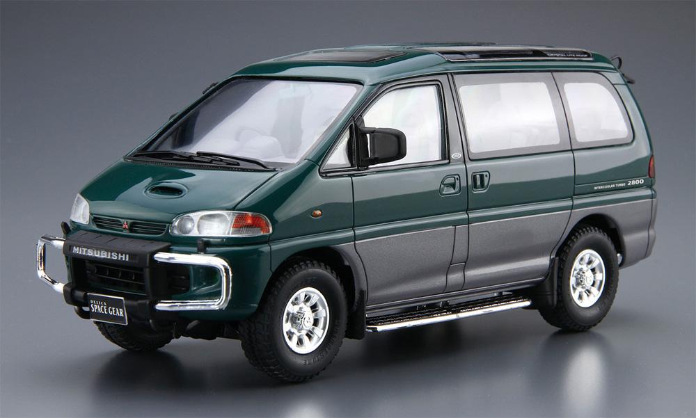 ミツビシ PE8W デリカ スペースギア '96プラモデル(アオシマ1/24 ザ・モデルカーNo.096)商品画像_2