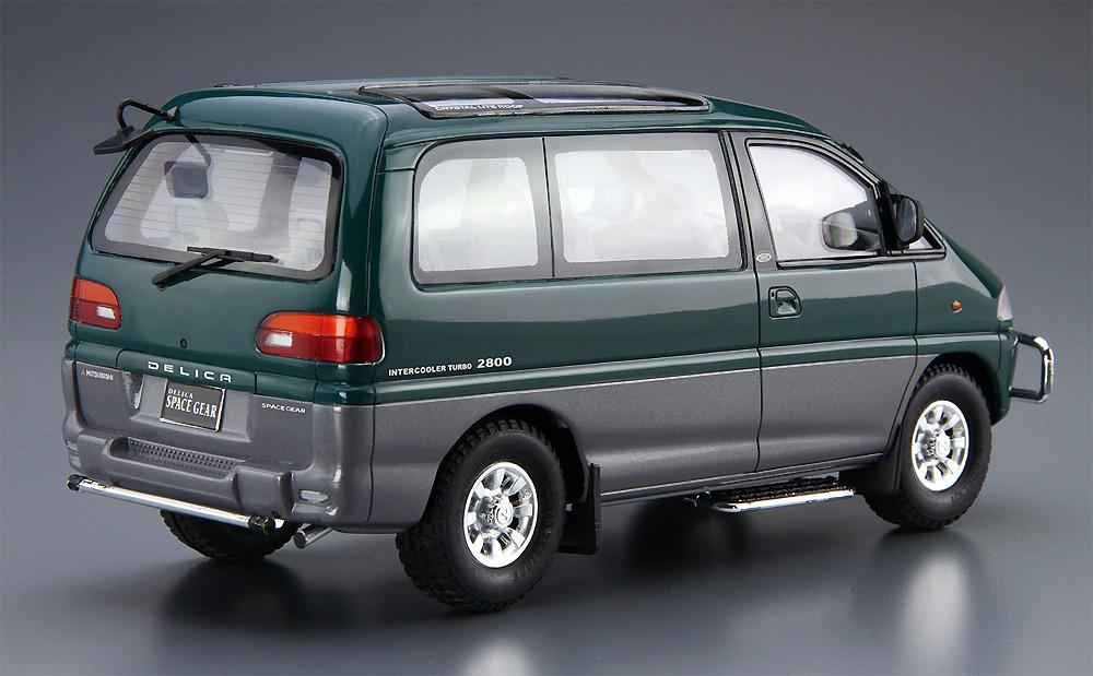 ミツビシ PE8W デリカ スペースギア '96プラモデル(アオシマ1/24 ザ・モデルカーNo.096)商品画像_3
