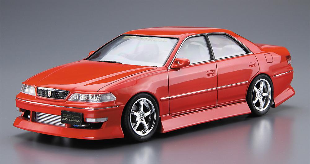 BNスポーツ JZX100 マーク 2 '98 (トヨタ)プラモデル(アオシマ1/24 ザ・チューンドカーNo.026)商品画像_2