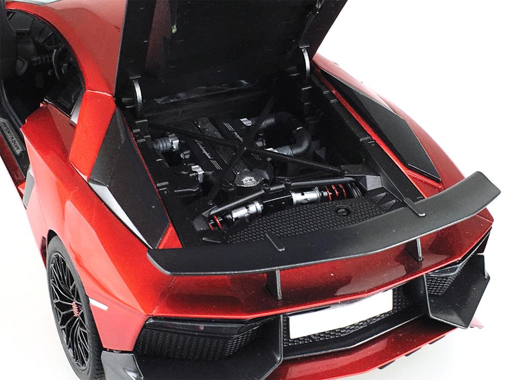 '15 ランボルギーニ アヴェンタドール SVプラモデル(アオシマザ スーパーカー シリーズNo.011)商品画像_2