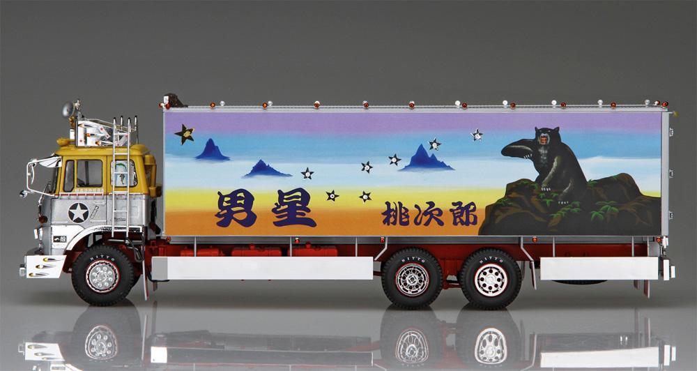 一番星 御意見無用プラモデル(アオシマ1/32 トラック野郎シリーズNo.001)商品画像_4