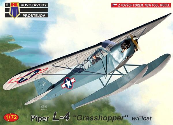 パイパー L-4 グラスホッパー w/フロートプラモデル(KPモデル1/72 エアクラフト プラモデルNo.KPM0192)商品画像