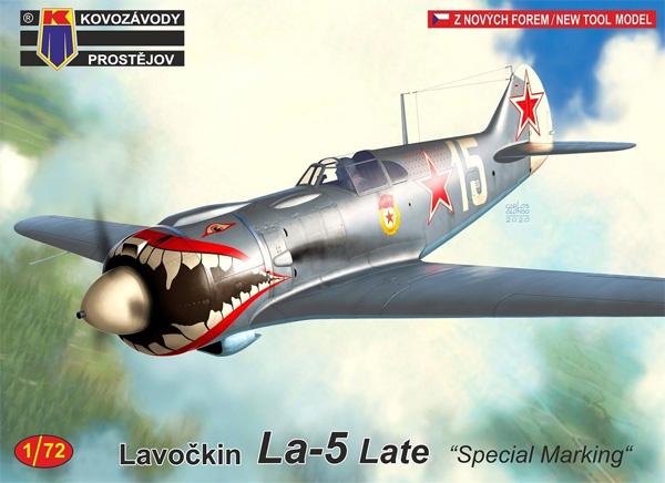ラボーチキン La-5 後期型 スペシャルマーキングプラモデル(KPモデル1/72 エアクラフト プラモデルNo.KPM0194)商品画像