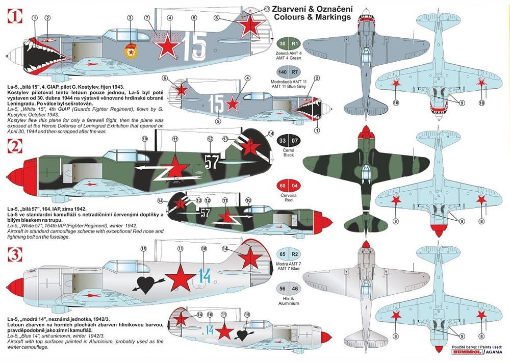 ラボーチキン La-5 後期型 スペシャルマーキングプラモデル(KPモデル1/72 エアクラフト プラモデルNo.KPM0194)商品画像_1