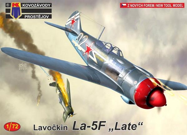 ラボーチキン La-5F 後期型プラモデル(KPモデル1/72 エアクラフト プラモデルNo.KPM0206)商品画像
