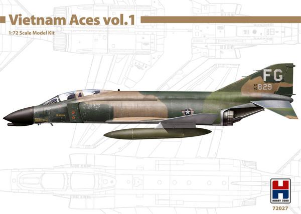 F-4C ファントム 2 ベトナムエース 1プラモデル(HOBBY 20001/72 モデルキットNo.72027)商品画像