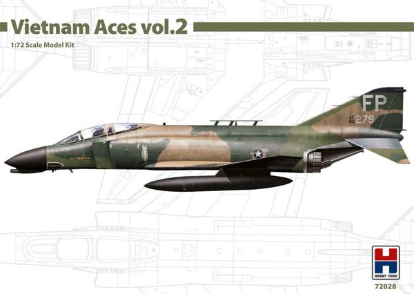F-4C ファントム 2 ベトナムエース 2プラモデル(HOBBY 20001/72 モデルキットNo.72028)商品画像