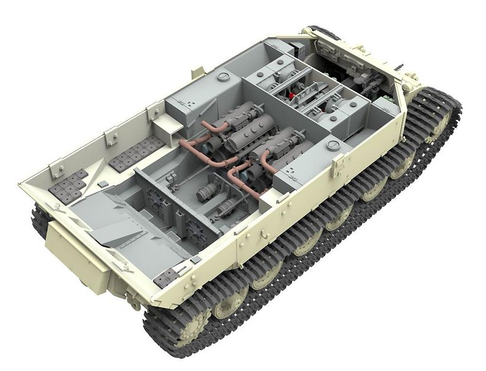 ドイツ 重駆逐戦車 エレファント Sd.Kfz.184 (フルインテリア)プラモデル(アミュージングホビー1/35 ミリタリーNo.35A033)商品画像_2