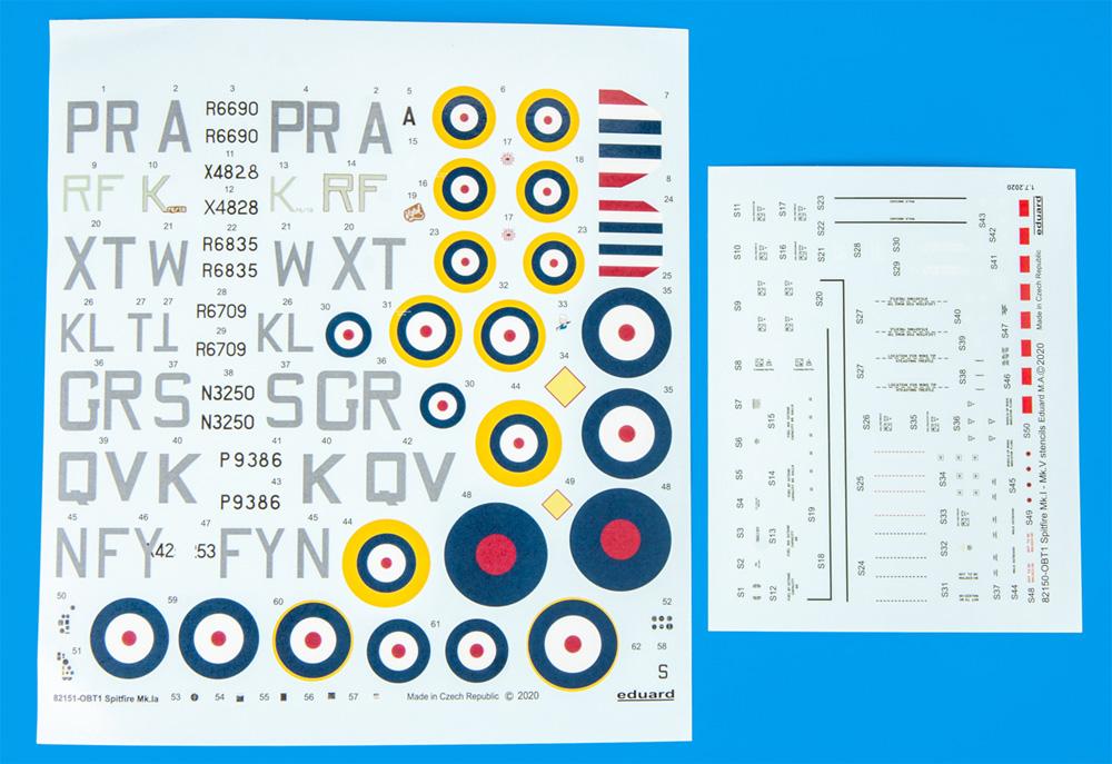 スピットファイア Mk.1aプラモデル(エデュアルド1/48 プロフィパックNo.82151)商品画像_2