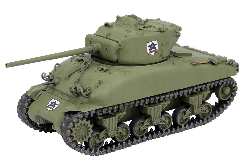 M4A1 シャーマン 76mm砲搭載型 サンダース大学付属高校 1/72スケールでもアリサ頑張ってます! (ガールズ&パンツァー 最終章)プラモデル(プラッツガールズ&パンツァーNo.GP72-028)商品画像_3