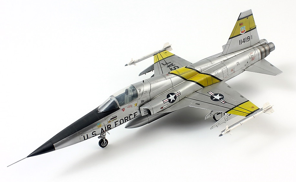 F-5E タイガー 2 初期型プラモデル(ドリームモデル1/72 航空機モデルNo.DM720013)商品画像_3
