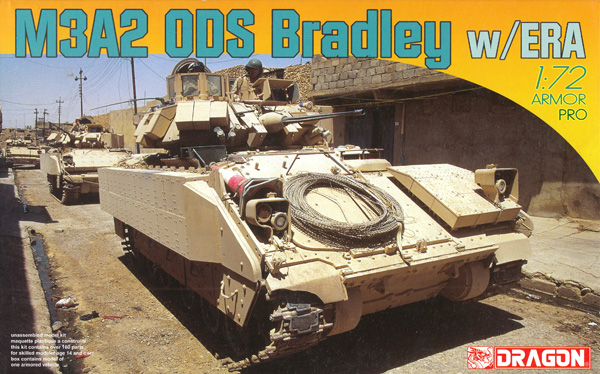 M3A2 ODS ブラッドレー w/ERAプラモデル(ドラゴン1/72 ARMOR PRO (アーマープロ)No.7416)商品画像
