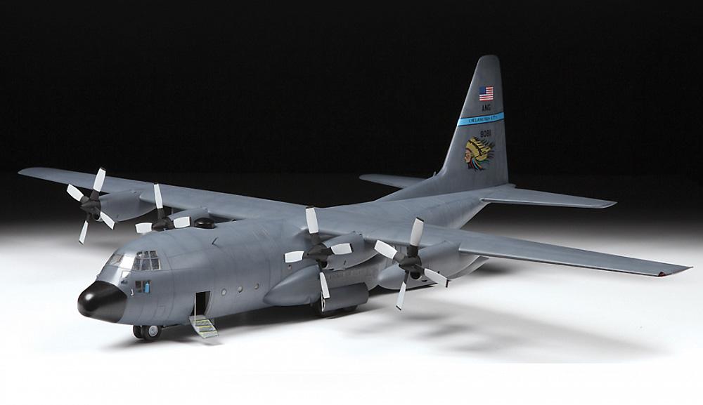 アメリカ 輸送機 C-130H ハーキュリーズプラモデル(ズベズダ1/72 エアクラフト プラモデルNo.7321)商品画像_1