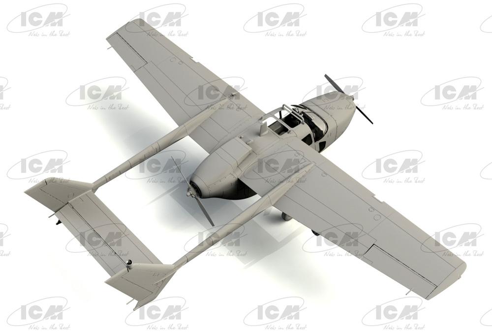 セスナ O-2A アメリカ海軍プラモデル(ICM1/48 エアクラフト プラモデルNo.48291)商品画像_2