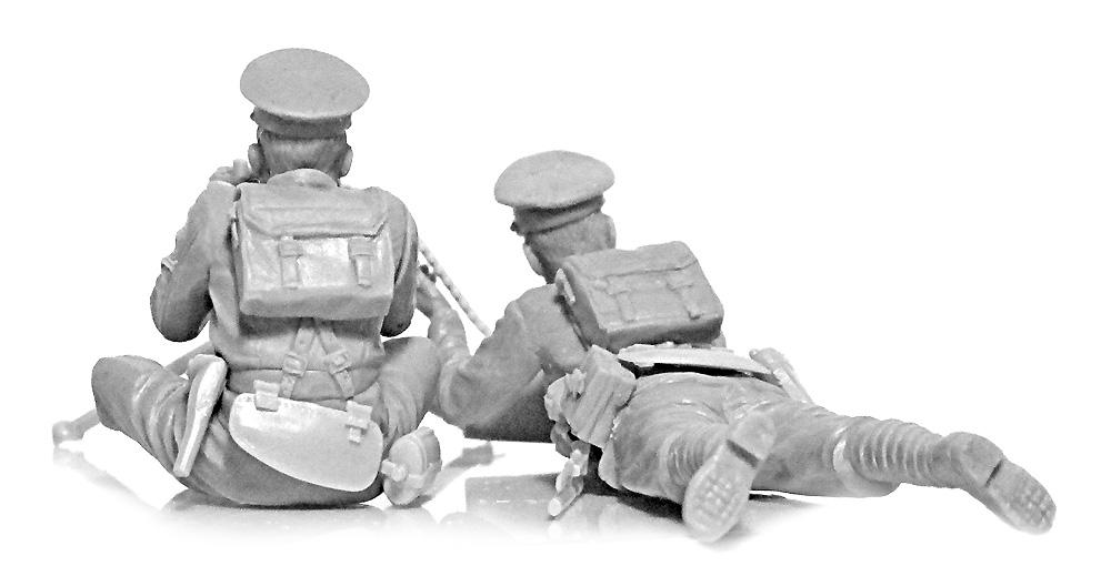 WW1 イギリス ヴィッカース重機関銃 クループラモデル(ICM1/35 ミリタリービークル・フィギュアNo.35713)商品画像_3