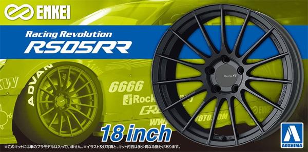 エンケイ RS05RR 18インチプラモデル(アオシマザ・チューンドパーツNo.106)商品画像