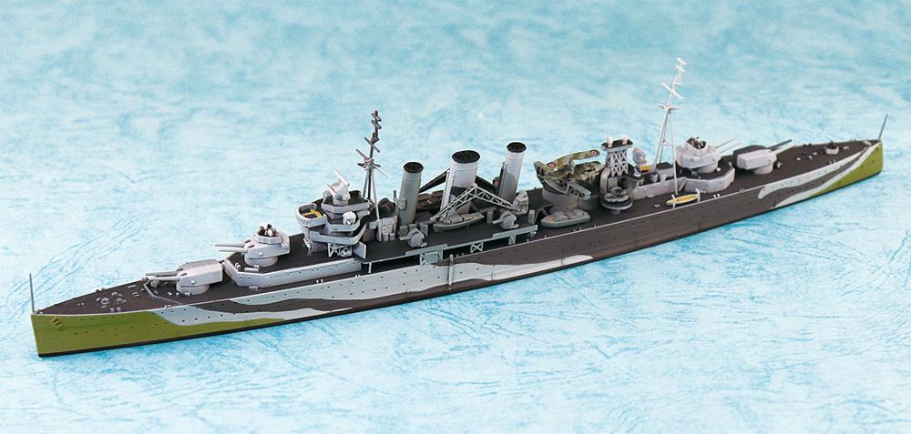 英国海軍 重巡洋艦 ケントプラモデル(アオシマ1/700 ウォーターラインシリーズNo.811)商品画像_1