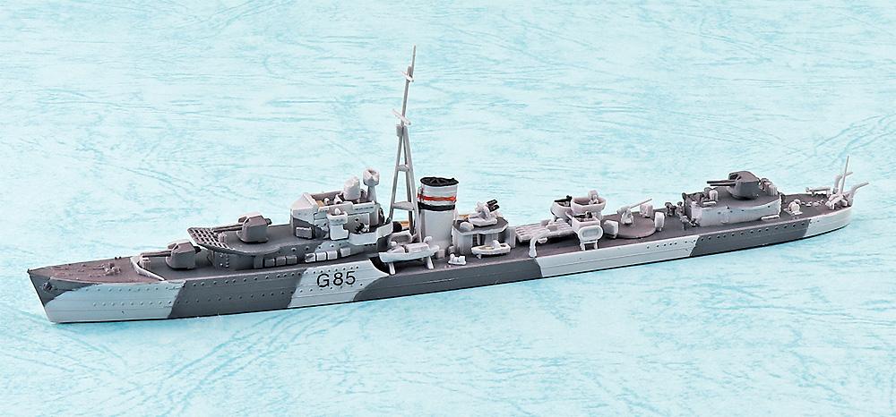 英国海軍 駆逐艦 ジュピタープラモデル(アオシマ1/700 ウォーターラインシリーズNo.915)商品画像_1