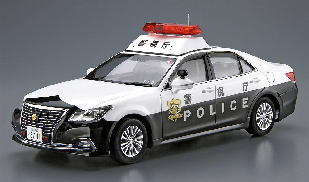 トヨタ GRS210 クラウン パトロールカー 警ら用 '16プラモデル(アオシマ1/24 ザ・モデルカーNo.129)商品画像_2