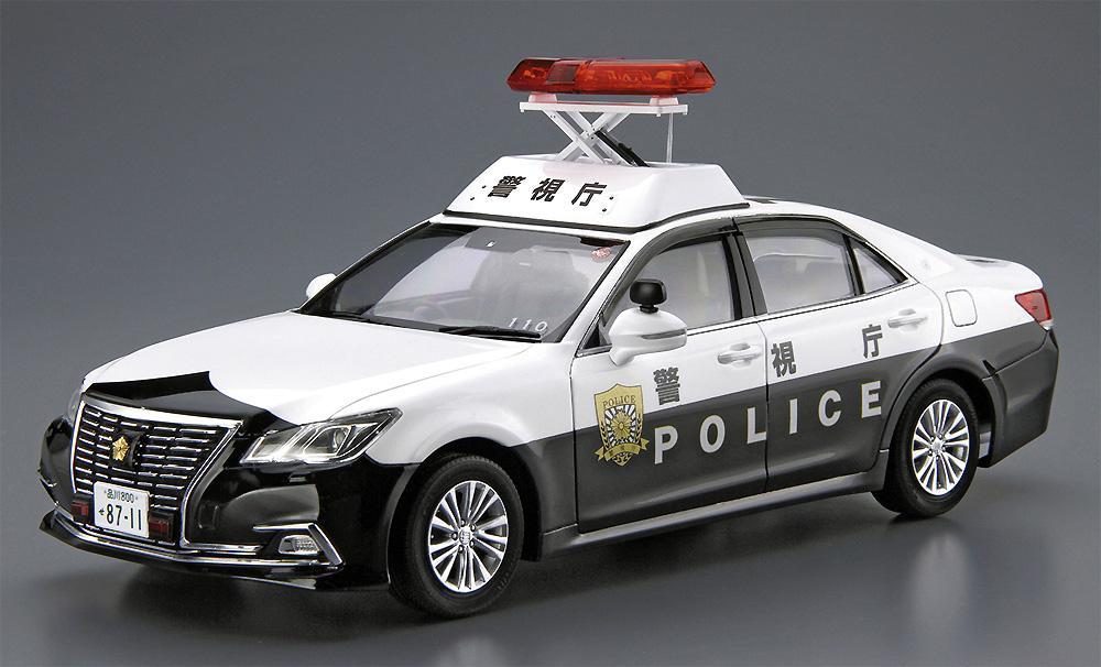 トヨタ GRS210 クラウン パトロールカー 警ら用 '16プラモデル(アオシマ1/24 ザ・モデルカーNo.129)商品画像_3
