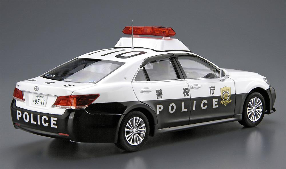 トヨタ GRS210 クラウン パトロールカー 警ら用 '16プラモデル(アオシマ1/24 ザ・モデルカーNo.129)商品画像_4