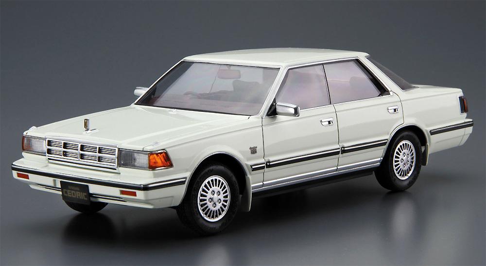 ニッサン Y30 セドリック/グロリア 4HT V30E ブロアム VIP '83プラモデル(アオシマ1/24 ザ・モデルカーNo.058)商品画像_2