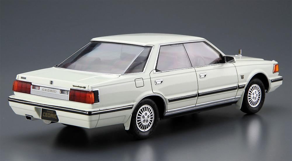 ニッサン Y30 セドリック/グロリア 4HT V30E ブロアム VIP '83プラモデル(アオシマ1/24 ザ・モデルカーNo.058)商品画像_3