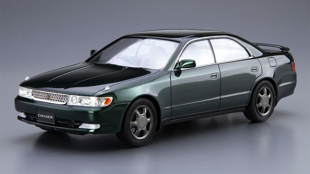 トヨタ JZX90 チェイサー/クレスタ アバンテ・ルーセント/ツアラー '93プラモデル(アオシマ1/24 ザ・モデルカーNo.093)商品画像_2