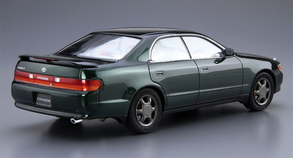 トヨタ JZX90 チェイサー/クレスタ アバンテ・ルーセント/ツアラー '93プラモデル(アオシマ1/24 ザ・モデルカーNo.093)商品画像_4