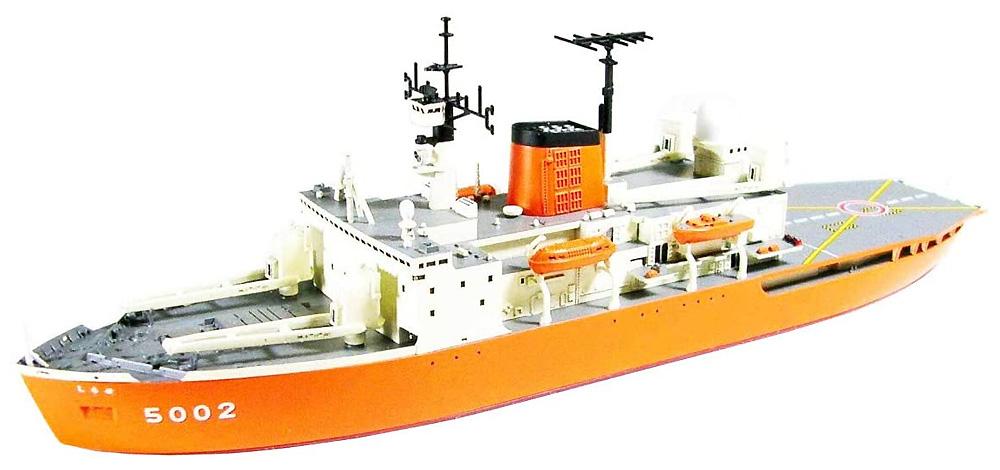 海上自衛隊 砕氷艦 しらせ エッチングパーツ付きプラモデル(シールズモデル1/700 プラスチックモデルシリーズNo.SML018)商品画像_3
