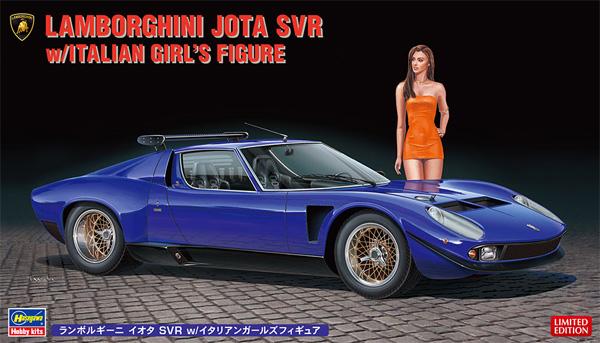 ランボルギーニ イオタ SVR w/イタリアンガールズ フォギュアプラモデル(ハセガワ1/24 自動車 限定生産No.20472)商品画像