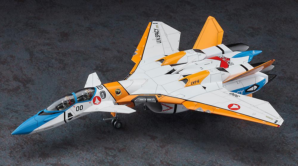 VF-11D サンダーボルト SVT-27 ブルーテイルズプラモデル(ハセガワ1/72 マクロスシリーズNo.65869)商品画像_2