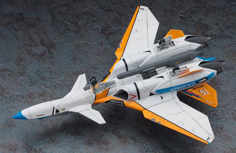 VF-11D サンダーボルト SVT-27 ブルーテイルズプラモデル(ハセガワ1/72 マクロスシリーズNo.65869)商品画像_4