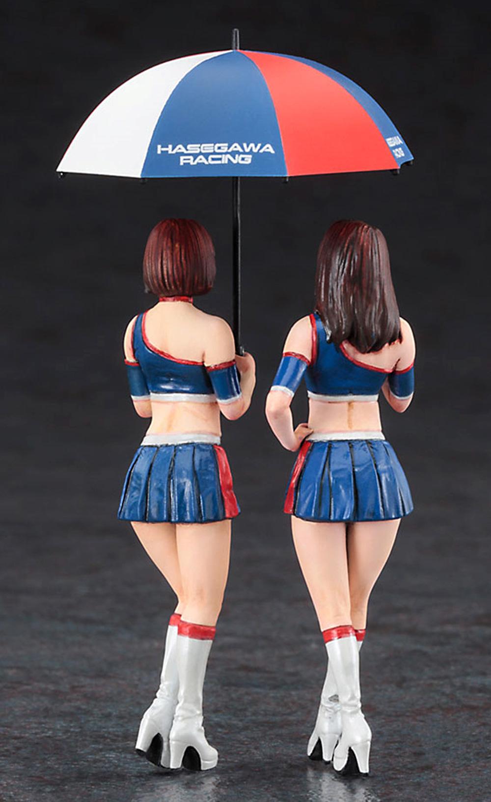 レースクイーン フィギュアプラモデル(ハセガワ1/24 フィギュアコレクションNo.009)商品画像_3