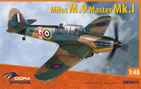 マイルズ M.9 マスター Mk.1プラモデル(ドラ ウイングス1/48 エアクラフト プラモデルNo.DW48033)商品画像