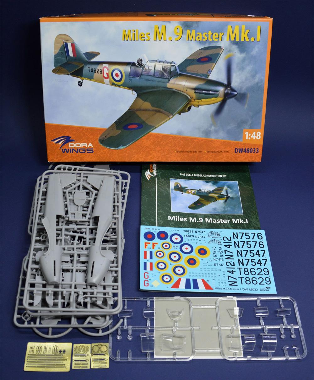 マイルズ M.9 マスター Mk.1プラモデル(ドラ ウイングス1/48 エアクラフト プラモデルNo.DW48033)商品画像_1