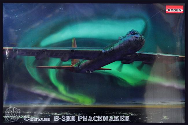 コンベア B-36B ピースメーカー 戦略爆撃機プラモデル(ローデン1/144 エアクラフトNo.347)商品画像