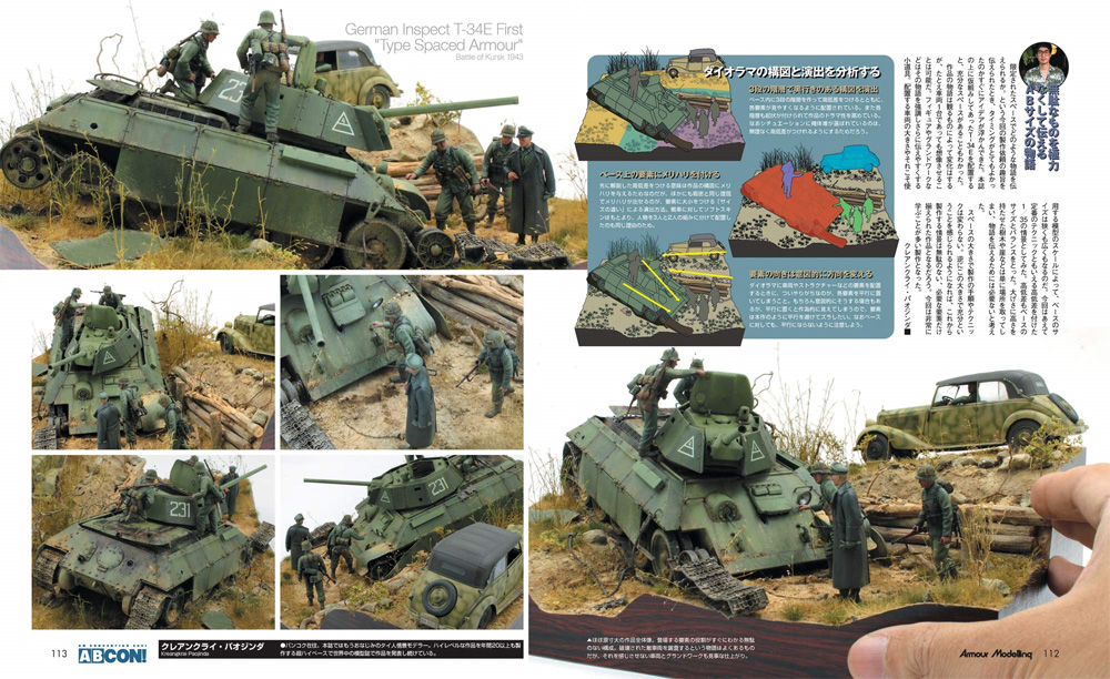 アーマーモデリング 2021年2月号雑誌(大日本絵画Armour ModelingNo.256)商品画像_4