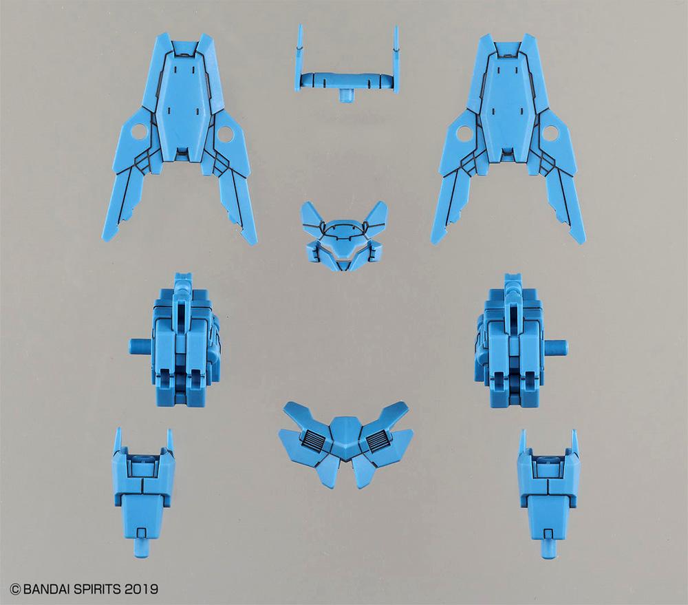 指揮官機用オプションアーマー シエルノヴァ用 ブルーグレープラモデル(バンダイ30 MINUTES MISSIONSNo.OP-030)商品画像_1