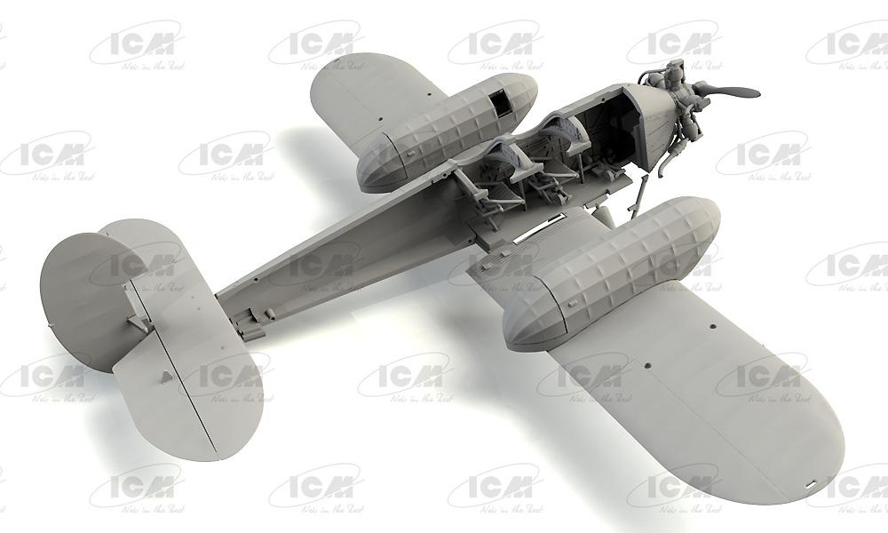 ポリカルポフ U-2/Po-2 多目的機プラモデル(ICM1/72 エアクラフト プラモデルNo.72244)商品画像_2