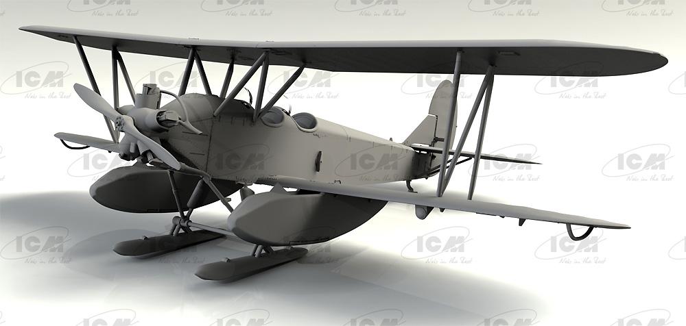 ポリカルポフ U-2/Po-2 多目的機プラモデル(ICM1/72 エアクラフト プラモデルNo.72244)商品画像_3