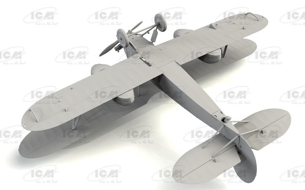 ポリカルポフ U-2/Po-2 多目的機プラモデル(ICM1/72 エアクラフト プラモデルNo.72244)商品画像_4