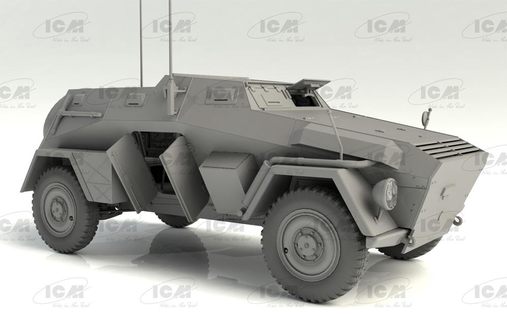 ドイツ Sd.Kfz.247 Ausf.Bプラモデル(ICM1/35 ミリタリービークル・フィギュアNo.35110)商品画像_1